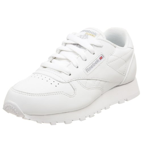 Reebok Little Kid Classic Leather Sneaker,White,2.5 M US Little Kid - Kid White Shoe Sneaker