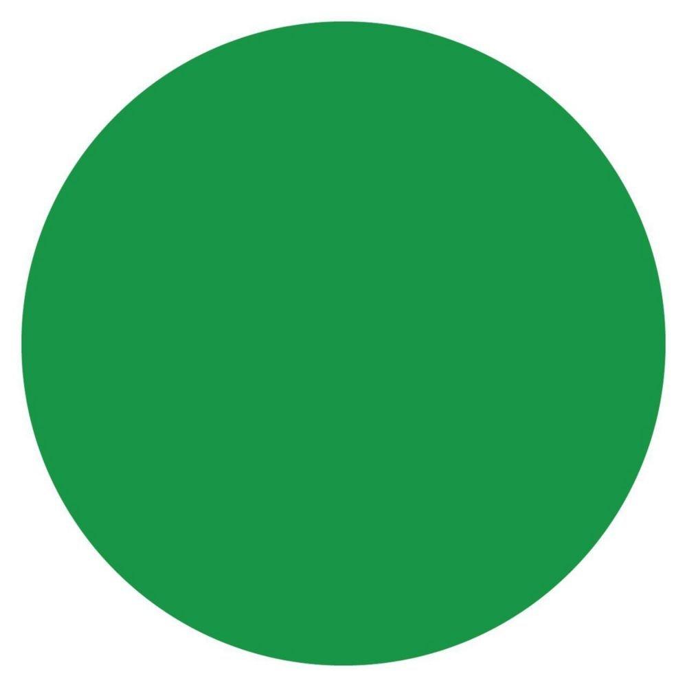 DayMark 112242 MoveMark Green 3/4'' Blank Day Circle - 2000 / RL