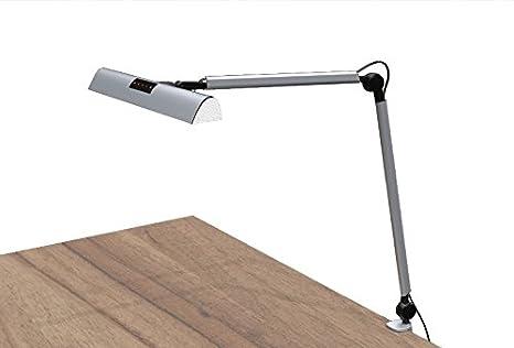 Présidentielle premium en aluminium brossé led lampe de bureau