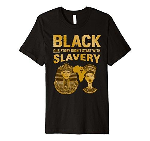 Black History Egyptian Slavery Africa & Egypt T-Shirt by Morning Glass