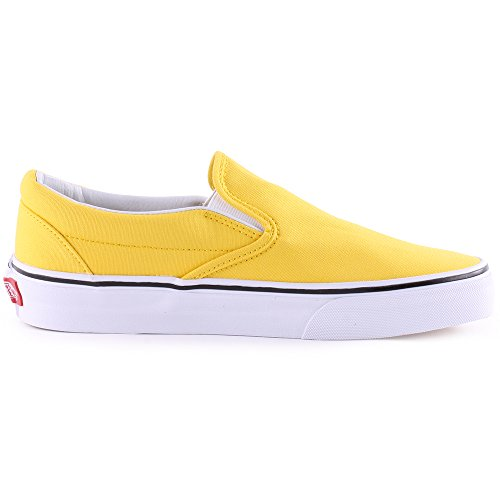 Vans Classic Slip On Womens Canvas Trainers Yellow - 38 EU