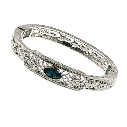 Downton Abbey® Blue Crystal Filigree