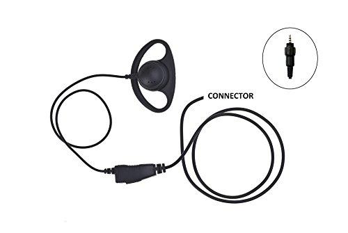 IMPACT D-Ring Earpiece for Motorola CLP1010 CLP1040 CLP1060 Radio - D-ring Earpiece