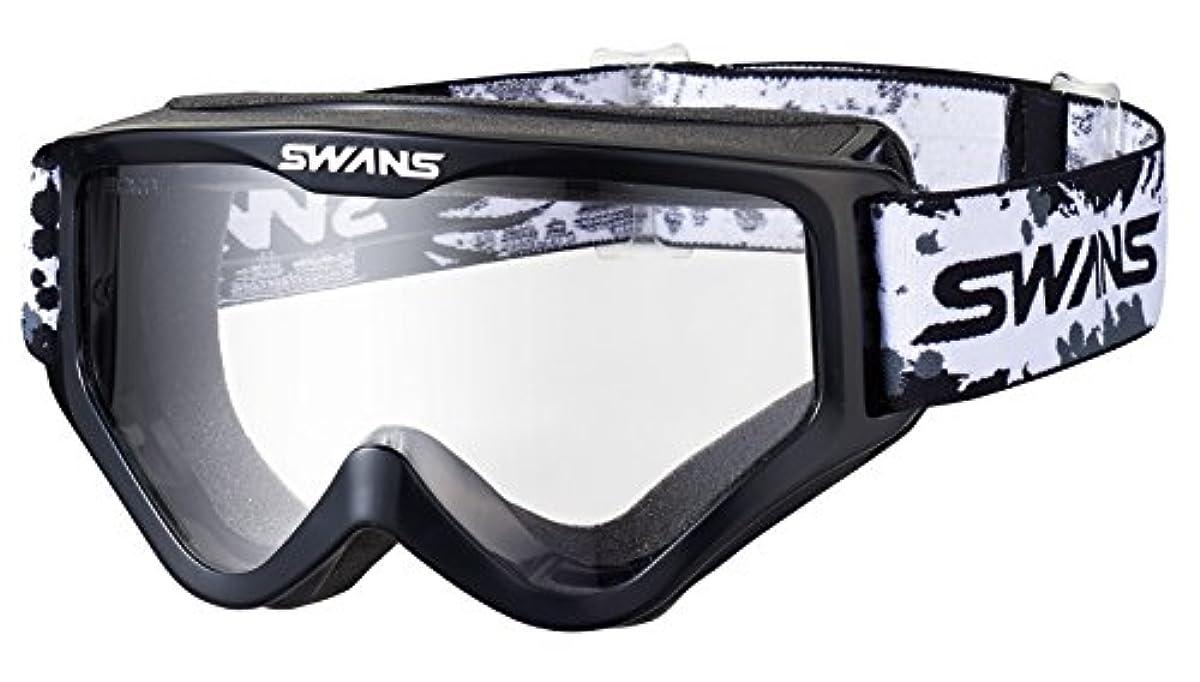 [해외] SWANS(스완스)더트 고글 프레임 컬러:블랙 렌즈 컬러:클리어 MX-797-PET