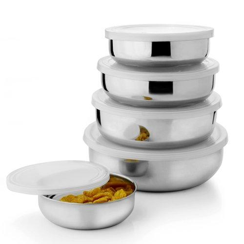 Kitchen Pro Stainless Steel Bowl Set of 5 Pcs
