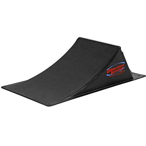 Discount Ramps SK-100-MR Black 7' High Skateboard Launch Ramp