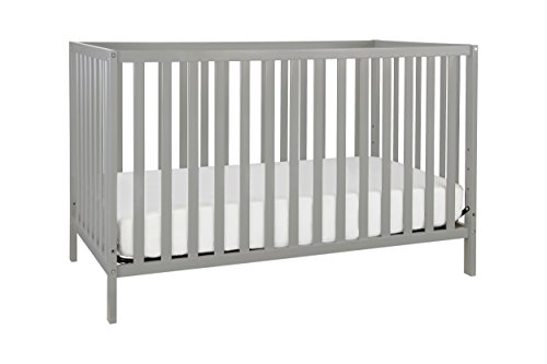 Union 3-in-1 Convertible Crib, Grey