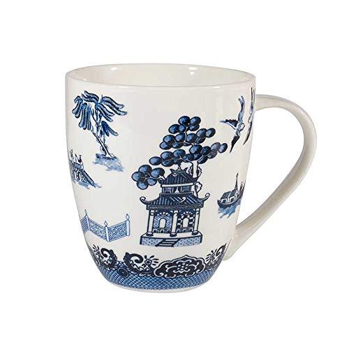 Churchill Willow White Fine China Gift Coffee Mug