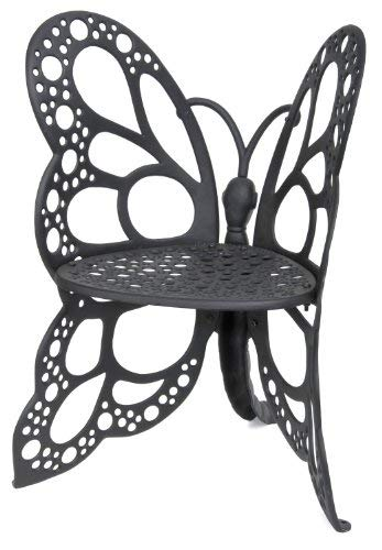 Flower House FHBC205 Butterfly Chair Black  sc 1 st  Amazon.com : outdoor butterfly chair - lorbestier.org