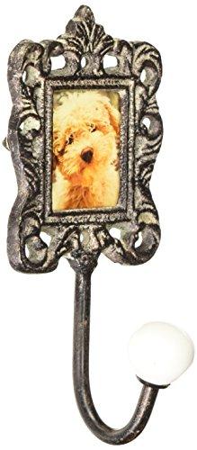 Ore Pet Metal Photo Frame Wall Hook - Terrier Metal Sculpture
