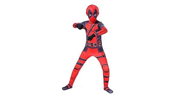 ZHANGQI Deadpool Cosplay Disfraces Flacos Día del Niño ...
