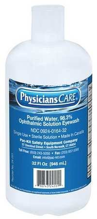 Personal Eye Wash Bottle, 32 oz.