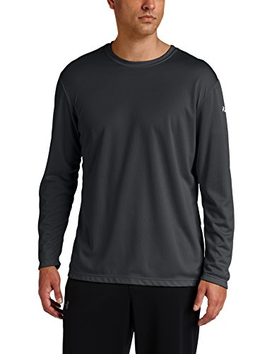 ASICS Men's Ready-Set Long Sleeve Top, Black, ()