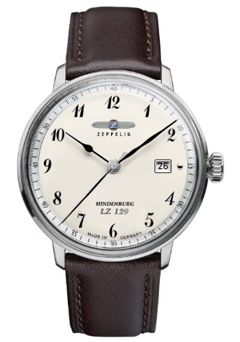 Zeppelin LZ129 Hinderburg Series Swiss Quartz Dress Watch 7046-4