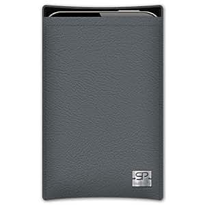 SIMON PIKECáscara Funda de móvi Boston 01 gris pour Sony Xperia PLAY cuero artificial