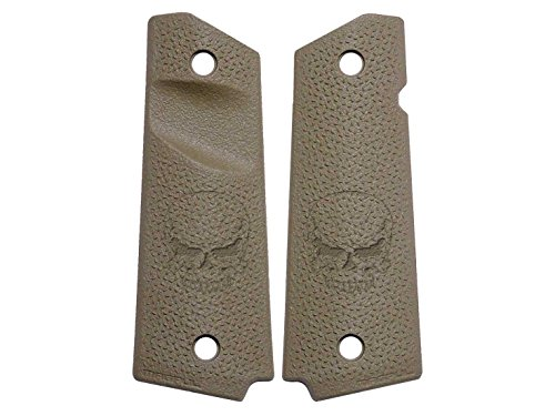 NDZ Performance for 1911 TSP Grip Panels Magpul FDE Trapezoidal Surface Projections MAG544 Skull Zombie 1 (1911 Zombie Grips)