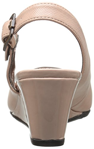 Lifestride Womens Domare Wedge Anbud Pump Taupe