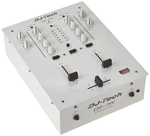 DJ Tech DIF-1W Mixer with Mini innoFADER White (Dj Qbert Mixer)