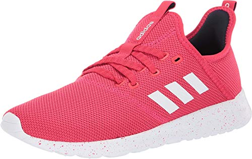 (adidas Women's Cloudfoam Pure Active Pink/Footwear White/Legend Ink 7 M US)