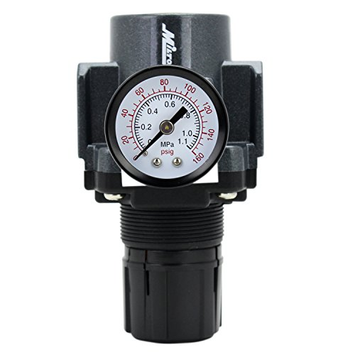 EXELAIR by Milton FRL Air Regulator - 1/2'' NPT (EX45R-04) by EXELAIR