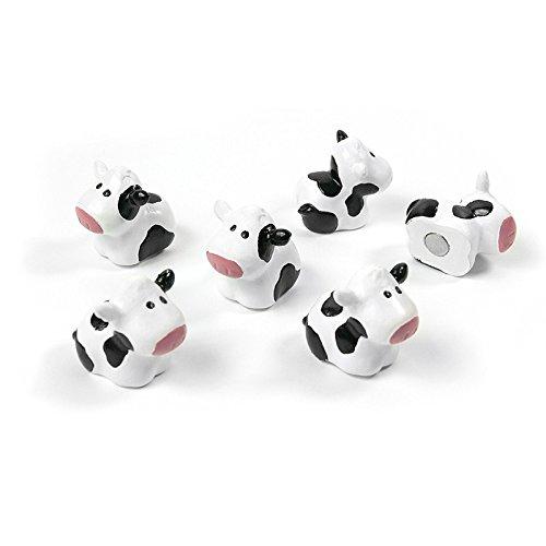 banjado - Trendform Magnete COW 6er Set Kühe Magnetwand Kühlschrank Büro Pinnwand Haftmagnete Neu