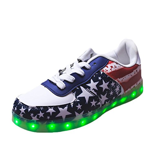 JUNGLEST F Led Light Present Stars small Red 7 towel Up Colors Shoes gc4W7CqFcS