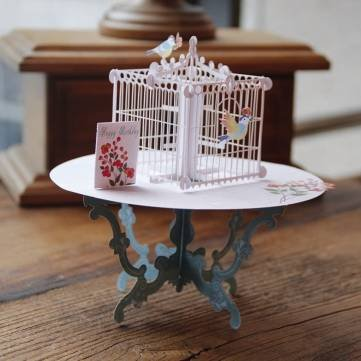 handmade-3d-pop-up-greeting-card-table-birdcage-birthday-wedding-party-invitation-card