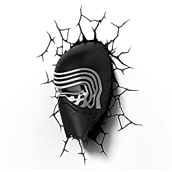 3D Light FX Star Wars Kylo Ren 3D Deco LED Wall Light