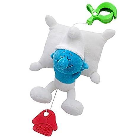 rätt Inicio Pitufos estilo musical cuerda bebé juguete ...