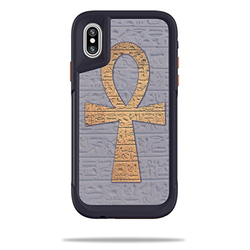OtterBox Pursuit iPhone X or XS Case - ankh | Protective, Durable, and Unique Vinyl Decal wrap Cover | Easy to Apply, Remove, and Change Styles | Made in The USA ()