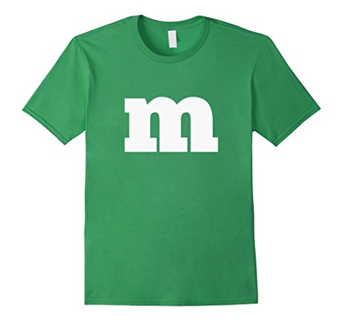 Mens Easy Simple Halloween Group Costume T-shirt Large Grass