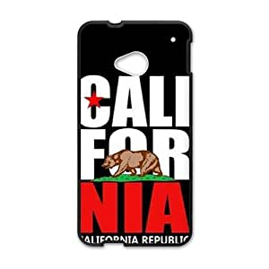 Happy california republic t shirt Phone Case for HTC One M7