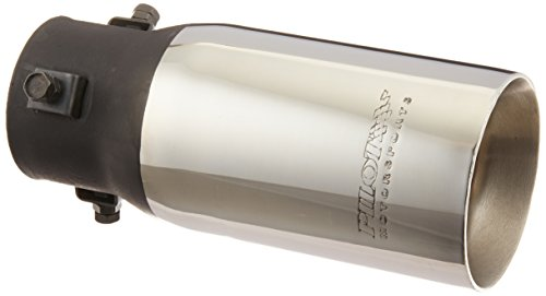 Resonated Bolt (Pilot PM555 Stainless Steel Round Non-Resonated Exhaust Tip)