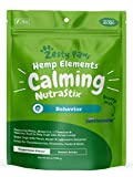 Calming Dental Sticks for Dogs - Stress & Anxiety Relief with Hemp, Melatonin & Chamomile - Dog Tartar Teeth Cleaning & Breath Freshener - Calm Composure for Fireworks, Thunderstorms & Barking - 25oz