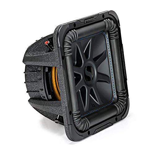 Kicker L7S Solo-Baric 10 Inch 1200 Watt 2 Ohm DVC Square Subwoofer | - Kicker Square