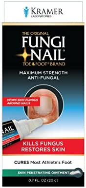 Fungi-Nail Anti-Fungal Ointment, 0.7 Ounce - Kills Fungus That Can Lead To Nail Fungus & Athlete's Foot w/ Undecylenic Acid & Clinically Proven to Cure Fungal Infections