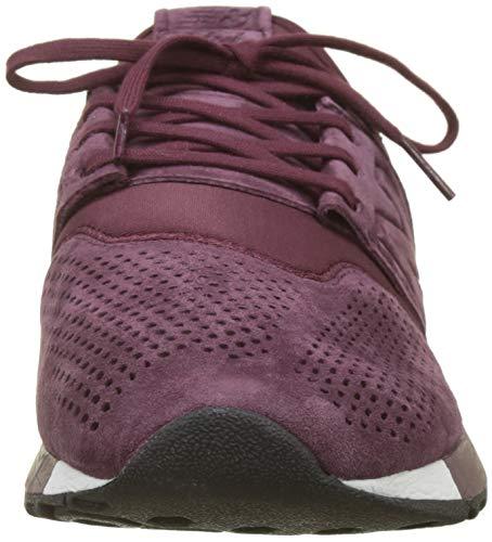 New Uomo Lr Rosso Balance 247v2 Sneaker Burgundy White rOtnr7q1x