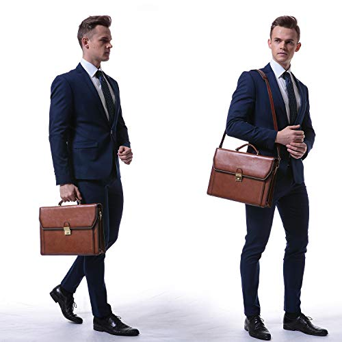 19b90a37ca96 Best Lawyer leather briefcase (August 2019) ☆ TOP VALUE ☆ [Updated ...