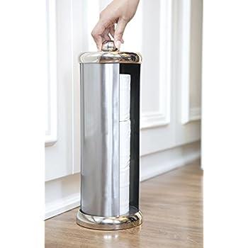 Amazon Com Bathsense Easy Turn Toilet Paper Holder Tower