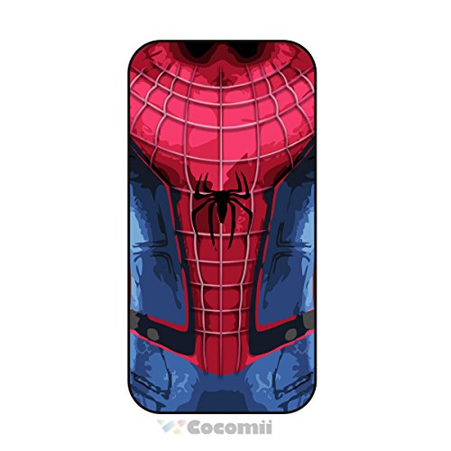 iPhone SE/5S/5C/5 Case, Cocomii Iron Man Armor New [Heavy Duty] Premium Tactical Grip Kickstand Shockproof Hard Bumper Shell [Military Defender] filled Body 2 Layer reliable Cover Apple (I.Spider Man)