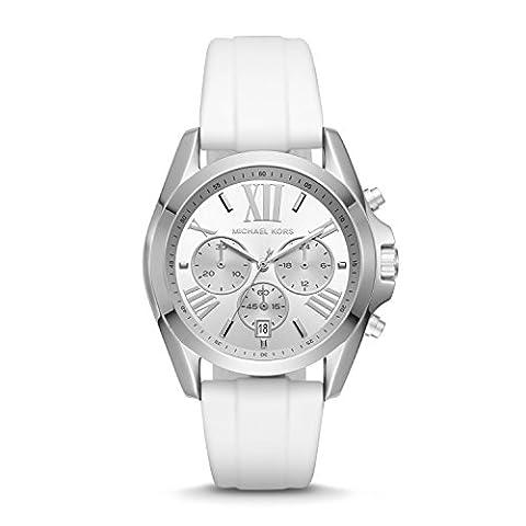Michael Kors Women's Bradshaw White Watch MK2651 (Michael Kors Bradshaw Watch 43mm)