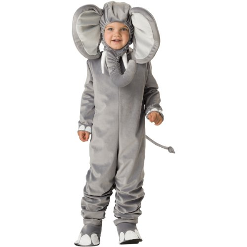 InCharacter Costumes Baby's Lil' Elephant Costume, Grey, Medium (Elephant Kids Costume)