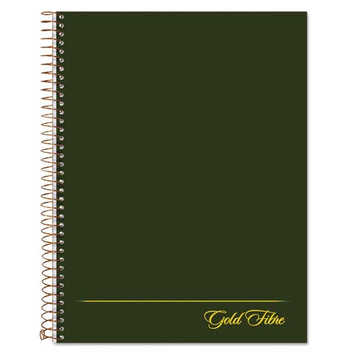 (Gold Fibre Wirebound Legal Pad, 9-1/2 x 7-1/4, White, Green Cover, 84-Sheets, Sold as 1 Each)