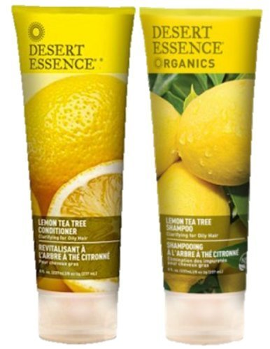 Organic Lemon Shampoo & Conditioner by Desert Essence