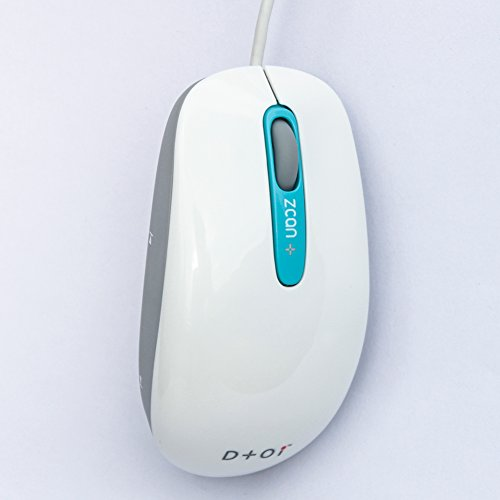 Zcan+ Scanner Mouse Swipe to Scan to Excel / Document / Images with OCR MAC or Windows Compatible by DTOI ( Design to Innovation)