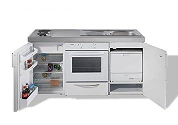 Miniküche Kitchenline MKBGS 160 mit 4-KS UKS 1434 - Backofen ... | {Miniküche mit backofen und geschirrspüler83}