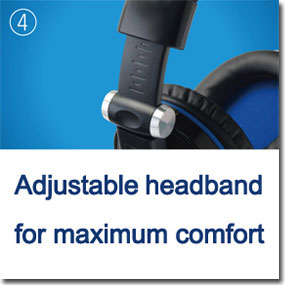 Adjustable headband