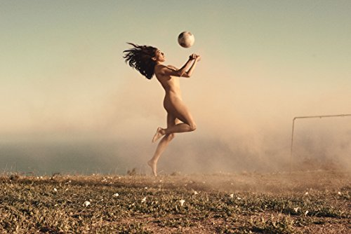 Christen Press Sports Poster Photo Limited Print Soccer Player Naked Nude Sexy Celebrity Olympics Athlete Size 22x28 #1