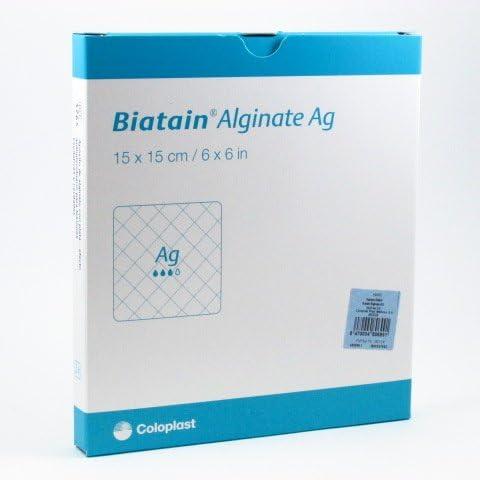 COLOPLAST BIATAIN ALGINATE AG 15X15 3765: Amazon.es: Salud y cuidado personal