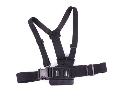 Adjustable Chest Mount Harness For GoPro HD Hero 2 & 3 Camera - Black by Genneric